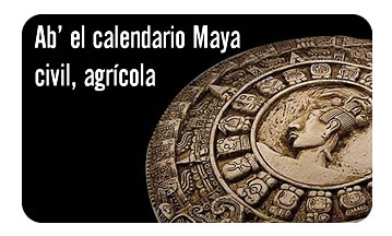 Ab' el calendario Maya civil, agrícola