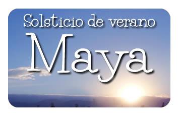 Solsticio de verano Maya