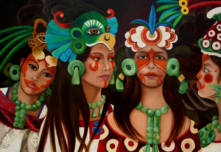 mujeres-mayas