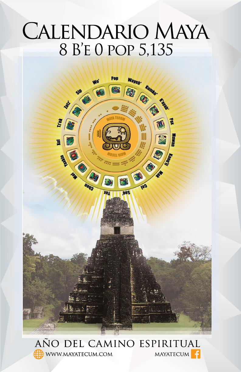 Calendario Solar Maya.Calendario Maya Haab 8 B E 5 135 Pdf